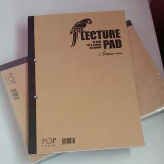 BRAND NEW Lecture Pad (Foolscap Paper)