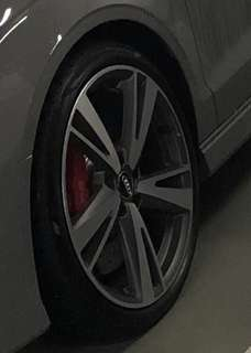 RS3 Wheels with Tyres