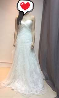Enzoani (Blue Dayton) wedding dress 拖尾婚紗