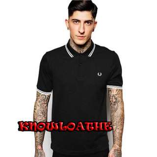 100%Real & New Fred Perry Polo M3600/524 slim fit