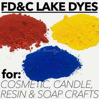 Lake Dyes Synthetic Pigments Dyes Cosmetic Grade Soap Colourants DIY Powder Makeup Supplies