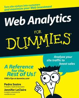 Web Analytics for Dummies(pdf)