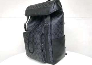New🆕🈹COACH F55391 HENRY BACKPACK lN SIGNATURE LOGO
