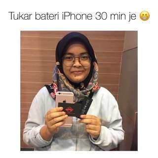 Tukar bateri iphone 6s