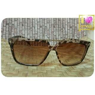 🚚 豹紋雷朋款/復古眼鏡/太陽眼鏡