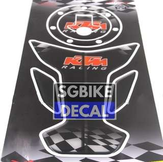 KTM duke 200 /390 Tank pad set