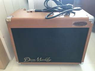 Guitar and mic amplifier - Ultrasound Dean Markley