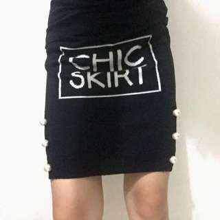 BOUTIQUE MOSCHINO Knit Skirt