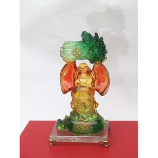 Resin Laughing Buddha