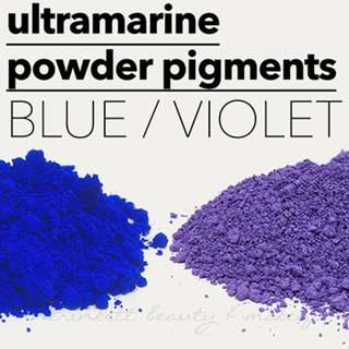 Ultramarine Mineral Pigments Dyes Cosmetic Grade Soap Slime Colourants DIY Powder Makeup Supplies