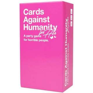 cards against humanity (pink)