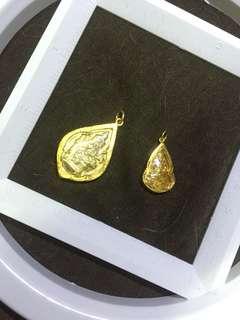 两个泰国金佛 不议价90% gold 只是出面少少是金