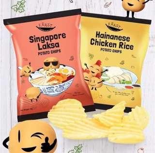 新加坡F.East 正宗出既海南雞飯味薯片