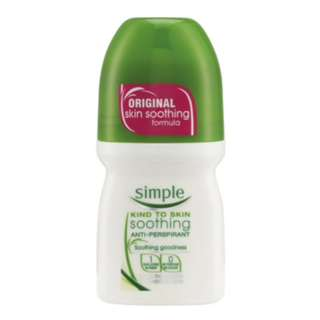 SIMPLE Kind to Skin Soothing Anti-Perspirant 50ml - PO Singapore