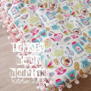 Bed cover Selimut bayi (baby) imported cotton good fabric cocok untuk kado