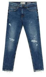 Pull And Bear Slim Fit Jeans