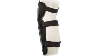 🆕! Competition MTB Motard Black Knee Guards / Shin Pads #OK