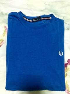Blue Fred Perry Tee