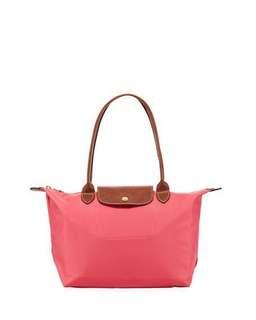 100% 全新Longchamp 長柄 size: S, colour: flower