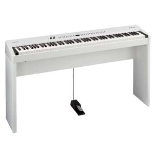 Roland FP4 electric piano white with Chair