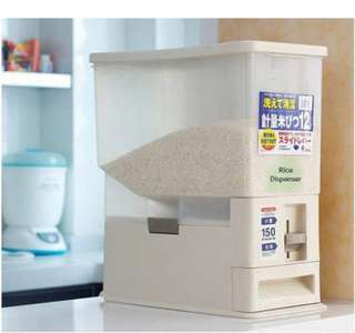 Free shipping 15kg Rice Dispenser/bekas beraa