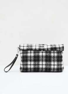 Abby Octa Clutch BLACK