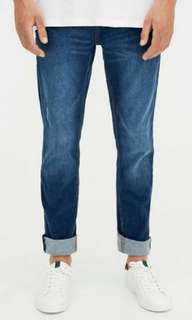 Pull and Bear Fade Slim Jeans