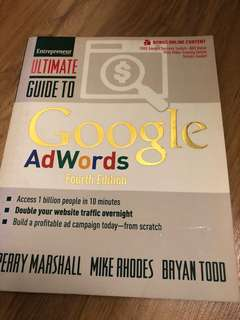 Ultimate guide to google AdWords (4th edition)