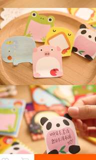Post it paper sticky note animal