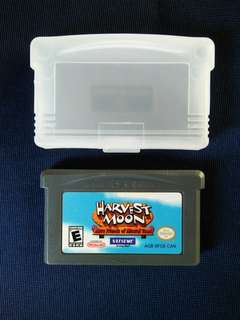 Gameboy Advance Cartridge : Harvest Moon More Friends of Mineral Town