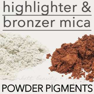 Highlighter | Bronzer Mica Loose Pigment Cosmetic Grade Soap Slime Colourants DIY Makeup Supplies