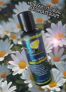 Minyak Floral Aromatherapy