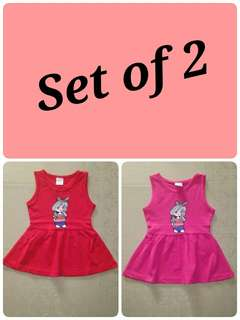 Baby dress set of 2