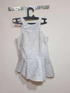 Cloth inc peplum shirt