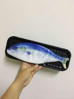 🚚 盒裝鮮魚筆袋 鉛筆袋