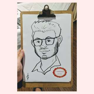Live Caricature Sessions