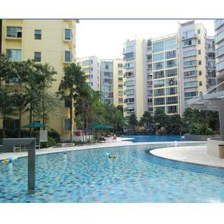 1 common rm available for 1 pax(only) at The Eden Condo