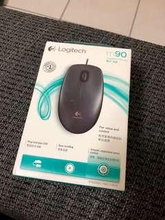 🚚 Logitech羅技m90光學滑鼠