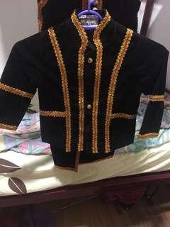 Baby kadazan costume