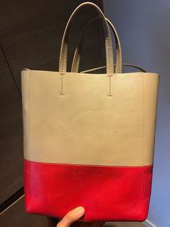 Celine Two Tone Tote Bag