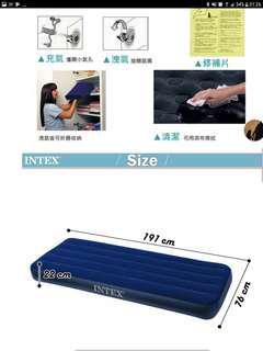 🚚 Intex充氣睡墊 air pump+200