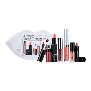 Sephora Favourites Give Me Some Nude Lip Kit -BNIB & FREE NORMAL MAIL-