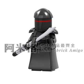 阿米格Amigo│PG820 黑色禁衛軍 皇家禁衛軍 星際大戰 Star Wars 品高 積木 第三方人偶 非樂高但相容