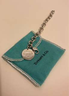 Tiffany silver 925純銀手練 size S