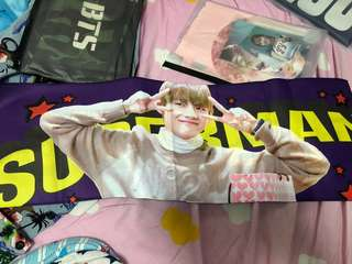 BTS V 韓站V ALL RIGHT Slogan