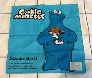 Sesame Street Cookie Monster 手帕(絶版)