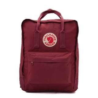 Fjallraven Kanken Backpack [DARK RED]