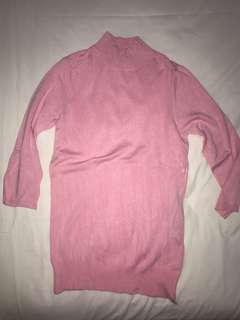 Zara knit pink