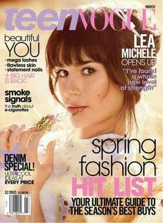 Teen Vogue March 2014 Lea Michele