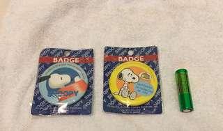 Snoopy badge
